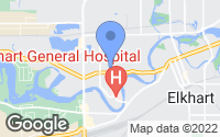 Map of Elkhart, IN