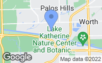 Map of Palos Hills, IL