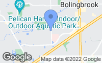Map of Bolingbrook, IL