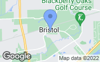 Map of Bristol, IL