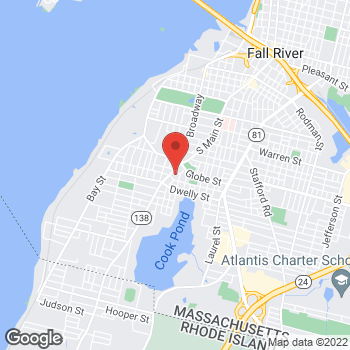 Map of Rite Aid at 1512 S Main St, Fall River, MA 02724