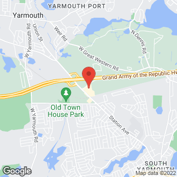 Map of John Mandeville, MD at 23A Whites Path, South Yarmouth, MA 02664
