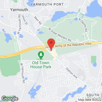 Map of Arthur G. Kalil, Jr., DPM at 12 Whites Path, South Yarmouth, MA 02664
