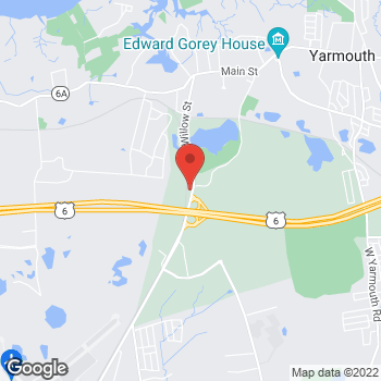 Map of Melanie Greenan, MD at 251 Willow Street, Yarmouth Port, MA 02675