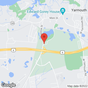Map of Lorraine Schratz, MD at 244 Willow Street, Yarmouth Port, MA 02675
