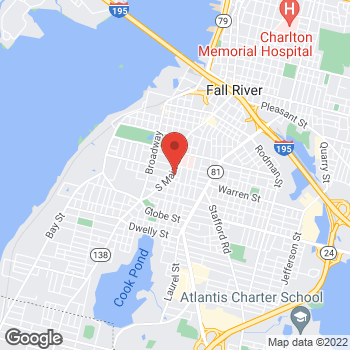 Map of Rite Aid at 1024 S Main St, Fall River, MA 02724