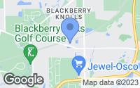 Map of Oswego, IL