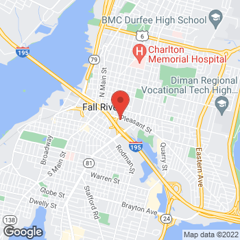 Map of Richard Fox, PA at 277 Pleasant Streetbuilding 1, Fall River, MA 02721