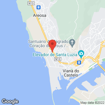 Map of Carglass® Viana do Castelo at Av. da Povoença 339,, Viana do Castelo, Viana do Castelo 4900-874