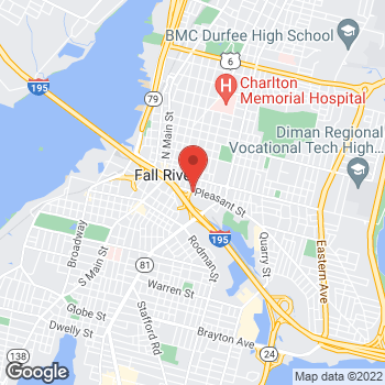 Map of Karen Susskind, MD at 277 Pleasant Street, Fall River, MA 02721