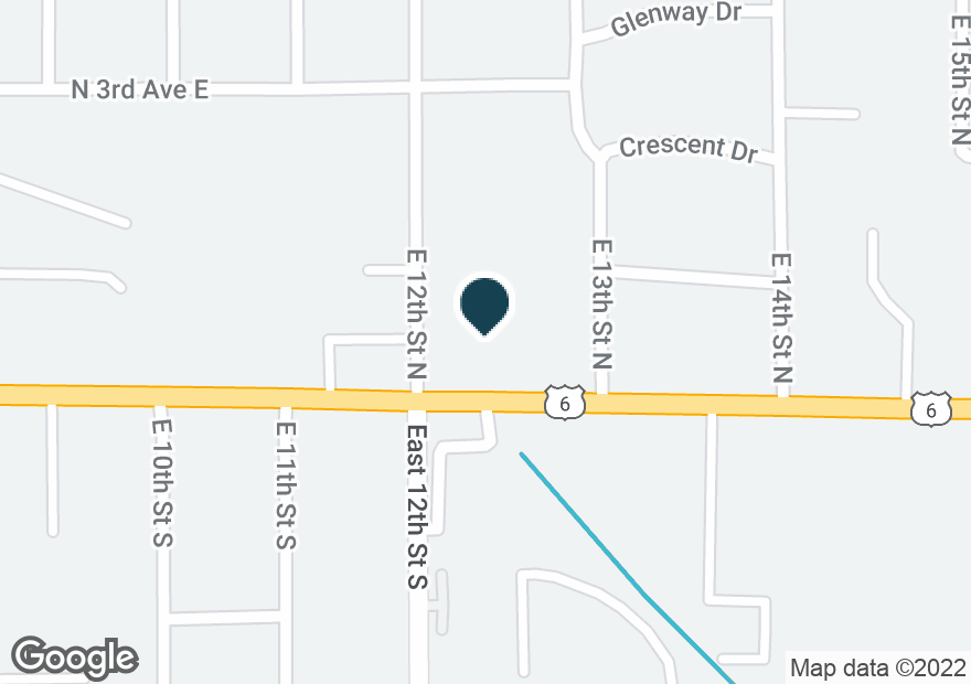 Google Map of1204 1ST AVE E