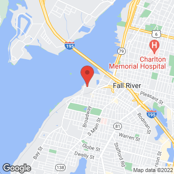 Map of Eugene Zak, MD at 67 Slade's Ferry Blvd, Fall River, MA 02721