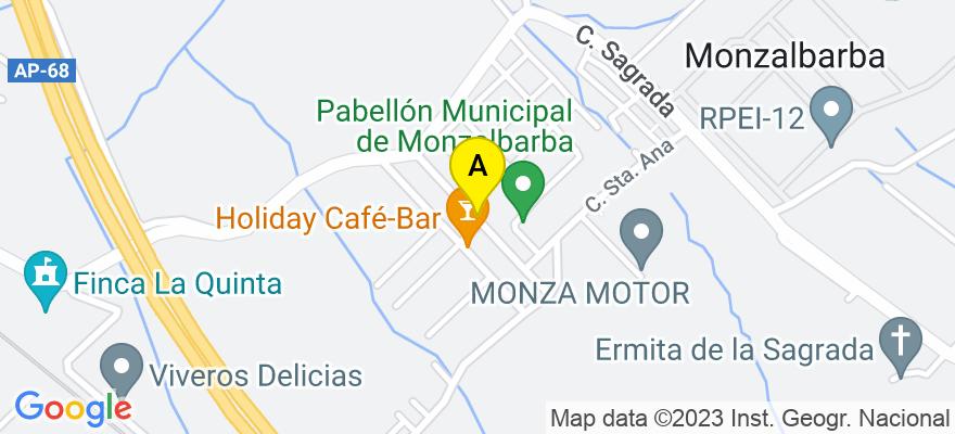 situacion en el mapa de . Direccion: Plaza de Aragón, 10, 50004 Zaragoza. Zaragoza