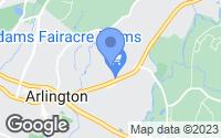 Map of Arlington, NY