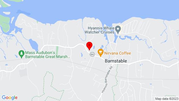 Google Map of 3090 Main Street, Barnstable, MA 02630