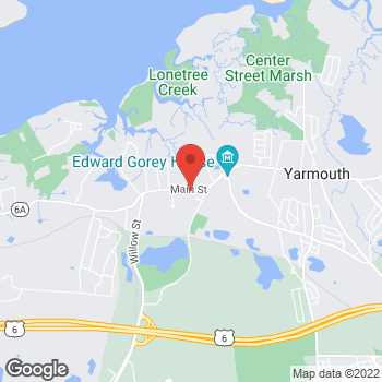 Map of Susan E. Mahoney, MD at 179 Route 6A, Yarmouth Port, MA 02675