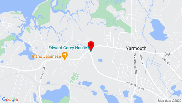 Google Map of 8 Strawberry Lane, Yarmouth Port, MA 02675
