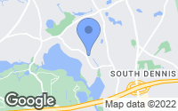 Map of Dennis, MA