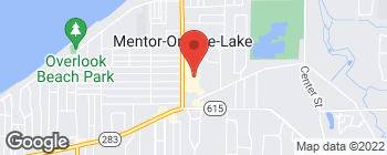 Map of 5979 Andrews Rd in Mentor On The Lake