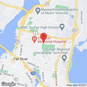 Map of Iman Ali, MD at 373 New Boston Road, Fall River, MA 02720