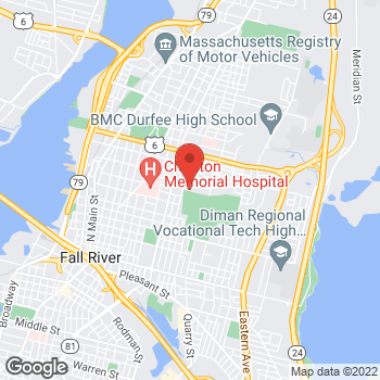 Map of Moustafa Ali, MD at 373 New Boston Road2nd, Fall River, MA 02720