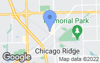 Map of Chicago Ridge, IL
