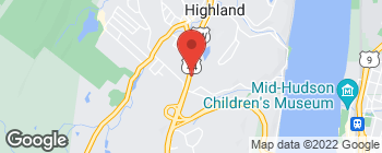 Map of 3588 Route 9W in Highland