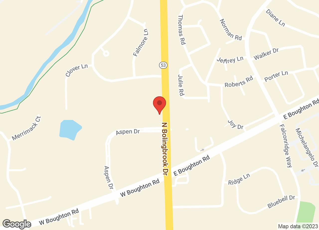 Google Map of VCA Bolingbrook Animal Hospital