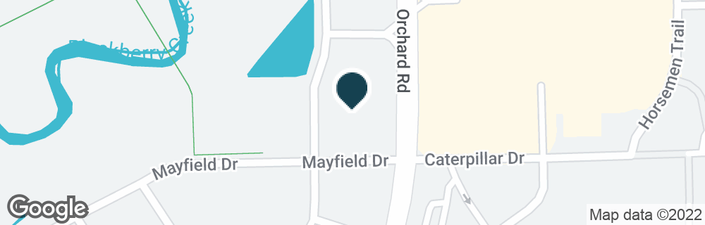 Google Map of2091 ORCHARD RD
