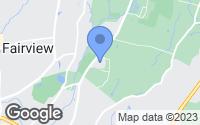 Map of Poughkeepsie, NY