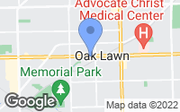 Map of Oak Lawn, IL