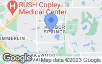 Map of Aurora, IL