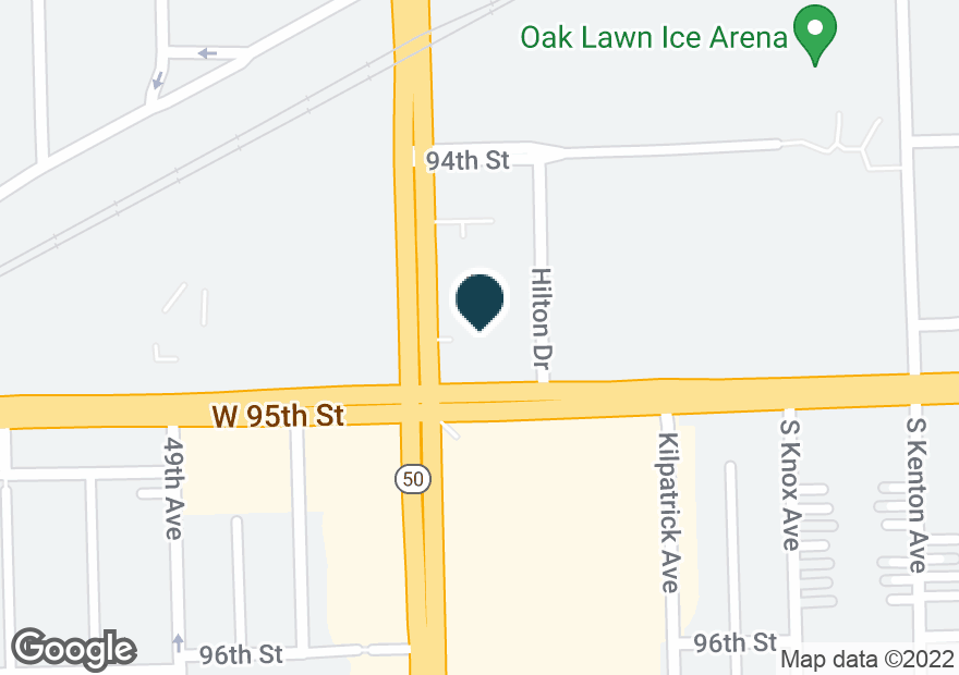 Google Map of4740 W 95TH ST