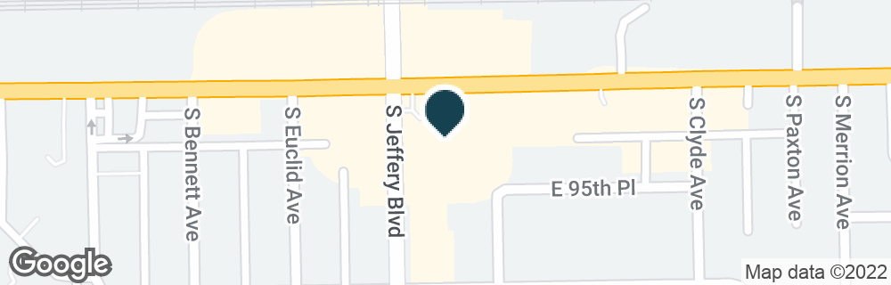 Google Map of2011 E 95TH ST
