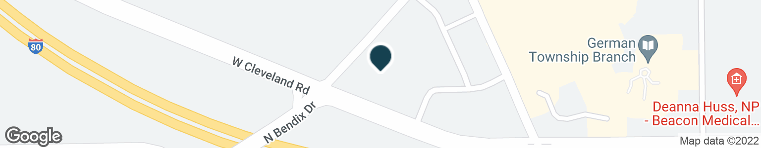 Google Map of2845 W CLEVELAND RD