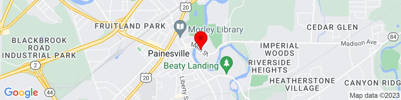 Google Map of 41.7251978, -81.2369573