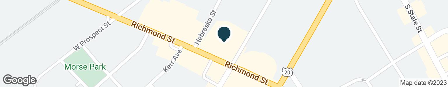 Google Map of132 RICHMOND ST