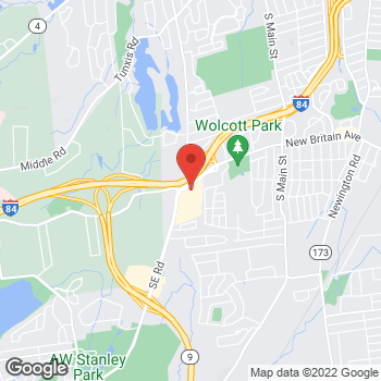 Map of buybuy BABY at 1433 New Britain Avenue, West Hartford, CT 06110