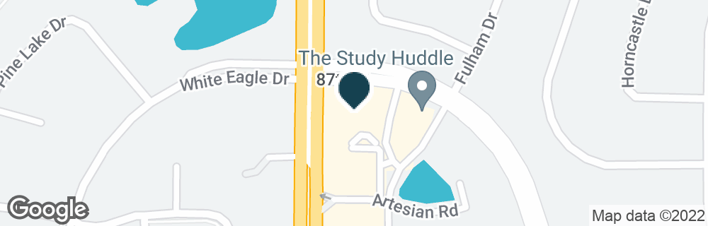 Google Map of2111 WINDING RIVER DR