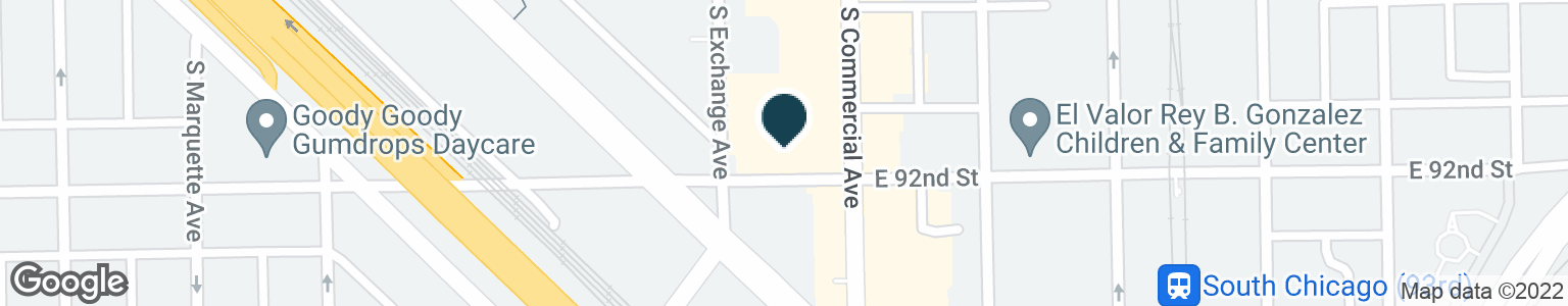 Google Map of9148 S. COMMERCIAL AVE