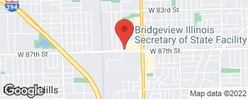 Map of 7380 W 87th St in Bridgeview