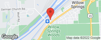 Mapa de 400A Village Cir en Willow Springs