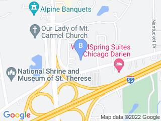 Map of The Dog District Dog Boarding options in Darien | Boarding