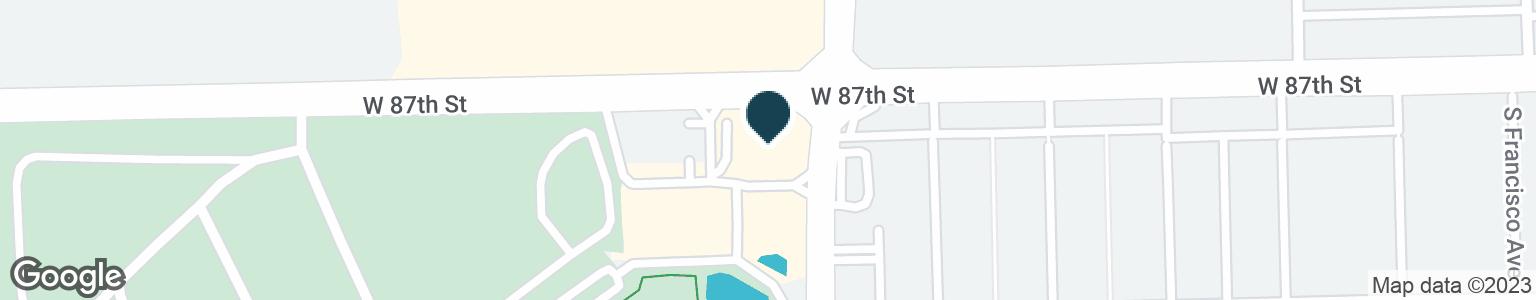 Google Map of8700 S KEDZIE AVE