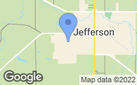 Map of Jefferson, OH