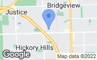 Map of Bridgeview, IL
