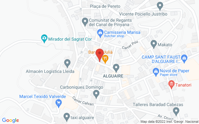 Administración nº1 de Alguaire