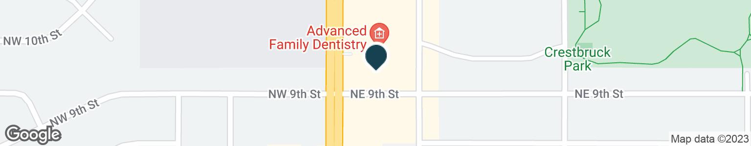 Google Map of901 N ANKENY BLVD
