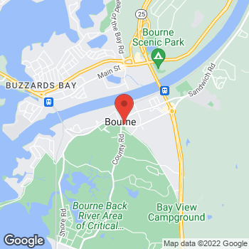 Map of Arash P. Tadbiri, MD at 1 Trowbridge, Bourne, MA 02532