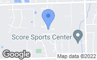 Map of Burr Ridge, IL